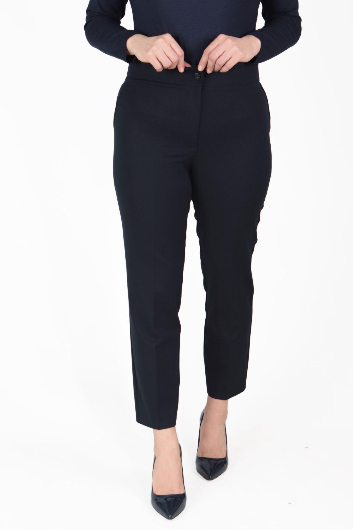 Büyük Beden Pantolon Lacivert B470