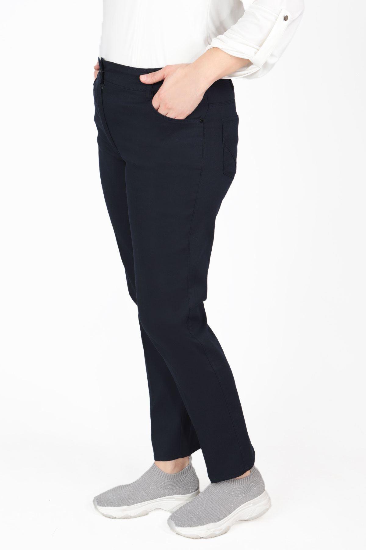 Büyük Beden Pantolon Lacivert B480