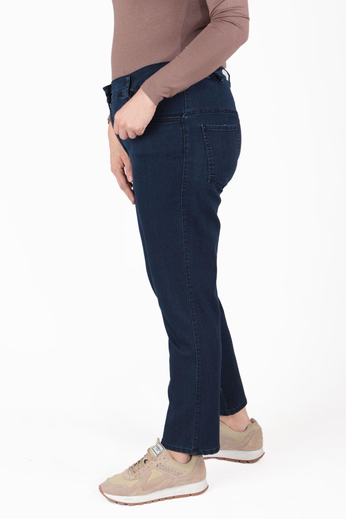Büyük Beden Pantolon Mavi B640