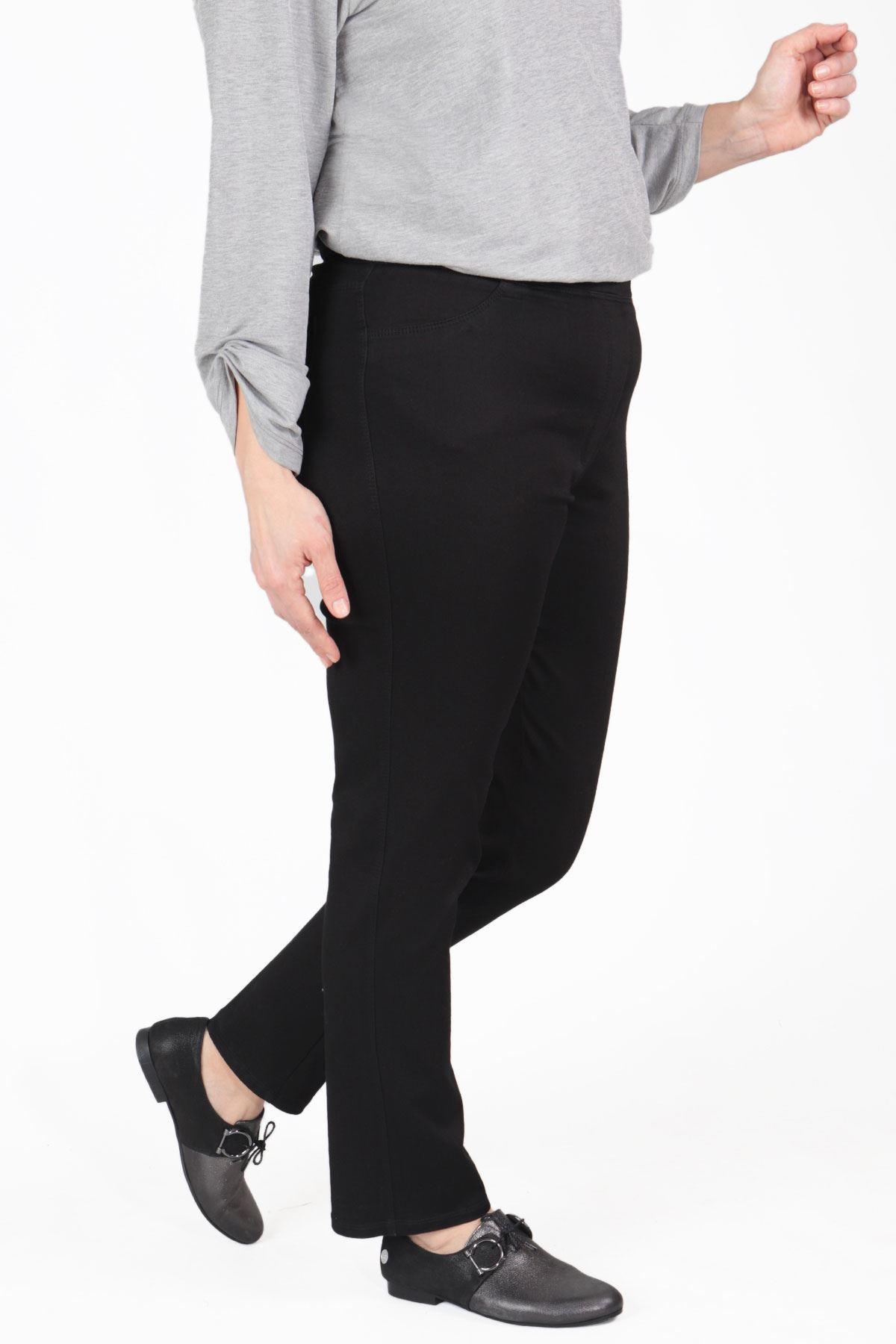 Büyük Beden Pantolon Siyah B652