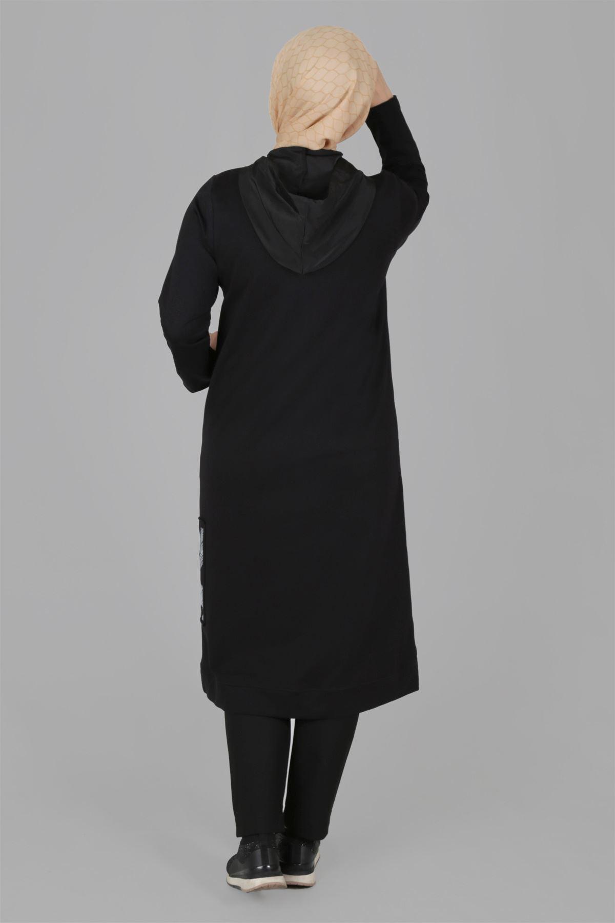 Büyük Beden Tesettür Kap 25036 Safran